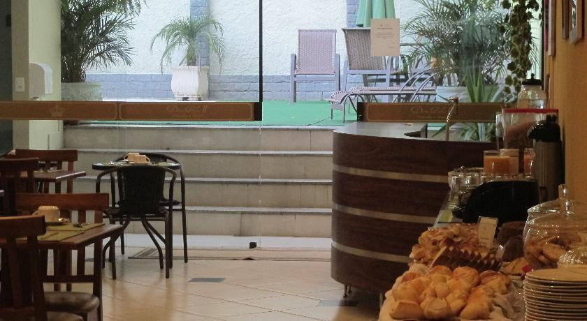 Café da manhã Pousada Princesa Isabel Dom Pedro