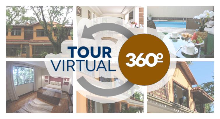 Tour Virtual Pousada Dom Pedro